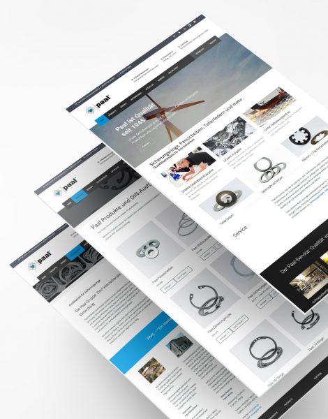 Paal Unternehmensgruppe - Jaco Media - Webdesign - Jasmin Saljihi - Wuppertal